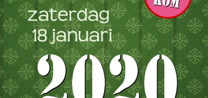 Nieuwjaarsreceptie (met audio)zaterdag 18 januari 2020