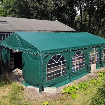 Nieuwe tent